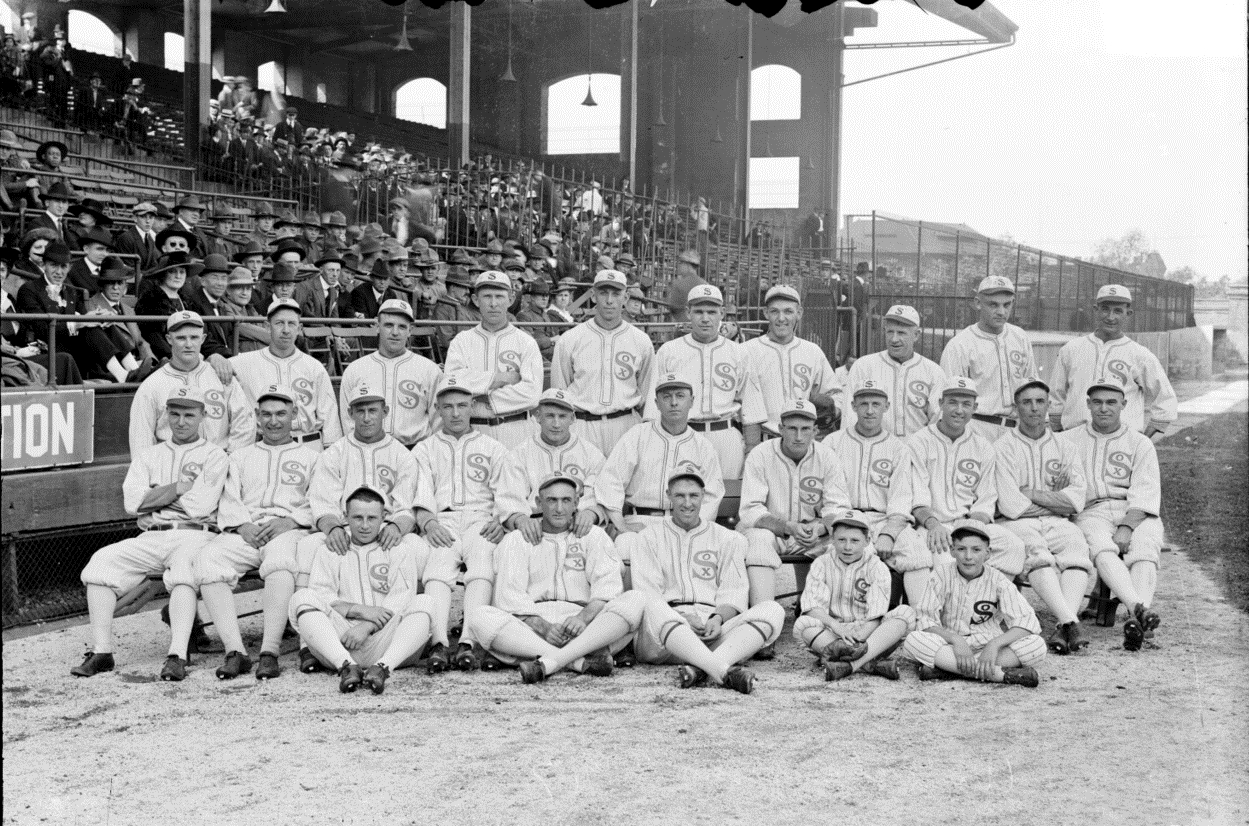 chicago black sox essay Ninety-five years after players from the chicago white sox allegedly threw the 1919 world series 1921, the black sox were found not guilty on all counts.