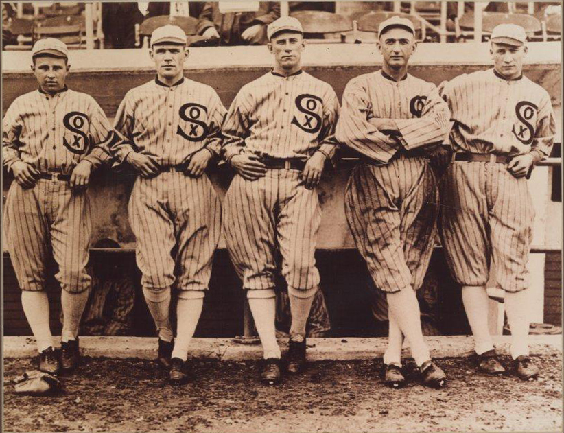 7 also Shoeless Joe Jackson besides Rare Photo Of Eddie Ben t Famed 1920s Yankee Batboy moreover Le Scandale Des Black Sox likewise Before The Scandal Hit Colorized Images Show The 1917 Chicago White So. on oscar happy felsch