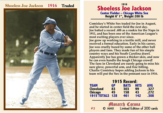shoeless joe question session Lot: selz shoes shoeless joe jackson sign, lot number: 1852, starting bid: $25, auctioneer: showtime auction services, auction: showtime's 3rd of 3 sessions, april.
