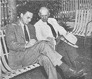 Joe Jackson Talking With Furman Bisher - Summer of 1949