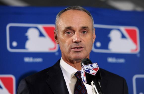 New elected Commissioner of Baseball, Rob Manfred